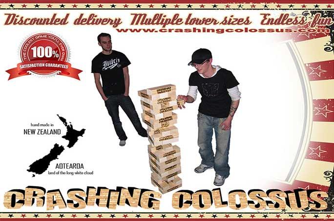CRASHING COLOSSUS